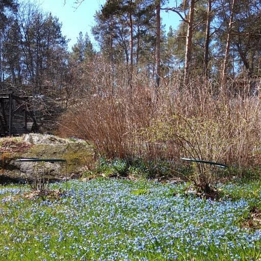 Kevään puutarhatapahtumissa mukana