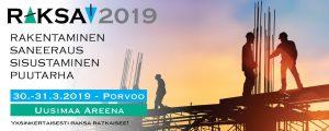 Puutarhapaneeli Raksamessut 2019 Porvoo